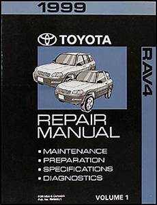 what is the best auto repair manual 1999 audi a8 on board diagnostic system 1999 toyota rav4 shop manual volume 1 rav 4 original oem repair service book one ebay