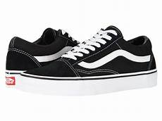 vans skool black white low suede canvas unisex shoes