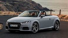 audi tt 20th anniversary edition honors tts concept roadster