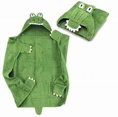 kapuzenhandtuch baby handtuch mit kapuze krokodil