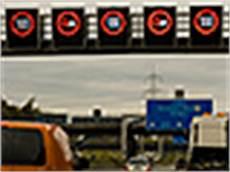 was müssen sie beim einfahren auf die autobahn beachten neue verkehrszeichen 2006 tunnel nothaltebucht