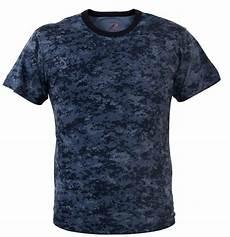 navy blue digital camo t shirt camouflage