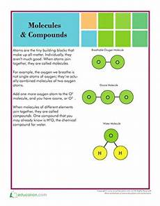 molecules and compounds worksheet education com