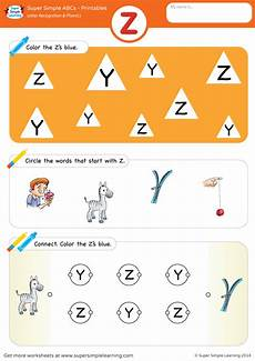 phonics worksheets 20405 letter recognition phonics worksheet z uppercase simple