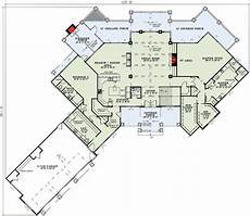 mountain house plans rear view plan 59963nd mountain ranch with spectacular rear views