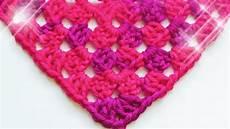 Dreieckstuch Häkeln Anleitung - how to crochet a half square shawl 169 woolpedia