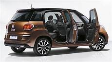 Fiat 500l 2017 Dimensions Boot Space And Interior