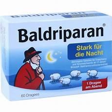 baldriparan stark f 252 r die nacht 252 berzogene tabletten