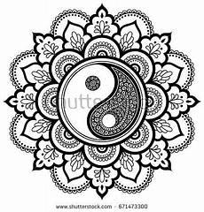 malvorlagen yin yang terbaru amorphi
