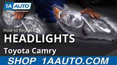 how to replace install headlight toyota camry 102 how to replace headlight assemblies 11 17 toyota camry 1a auto