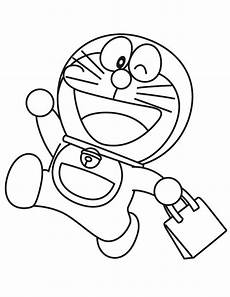 Doraemon Goes Shopping Coloring Page Projects To Try