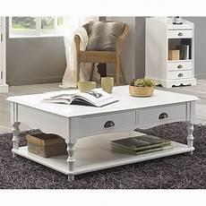 Table Basse Blanche De Style Anglais Maison Et Styles