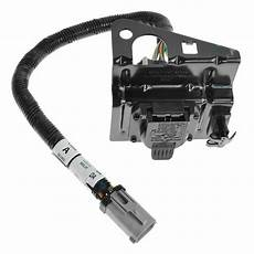 ford wiring harness system ford 4 7 pin trailer tow wiring harness w bracket for f250 f350 f450 sd ebay