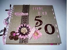 scrapbooking livre d or anniversaire