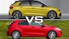 2019 audi hatchback 2019 audi a1 sportback vs 2018 kia hatchback technical