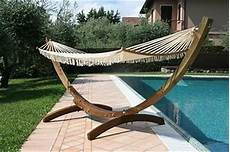 amache da giardino amaca in legno f12 con rete casa giardino arredo