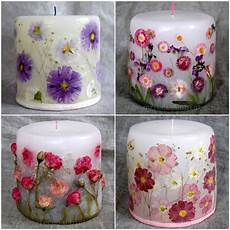 decoupage candele how amazing are these decoupage flower candles diy