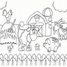 farm animals coloring pages to print 17173 printable preschool coloring page of happy farm animals farm coloring pages farm animal
