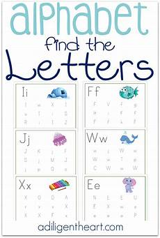 printable letter worksheets for preschoolers 23672 alphabet find the letters pages free printable preschool learning preschool worksheets