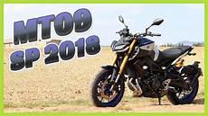 Essai Moto Yamaha Mt 09 Sp 2018 Suspension Ohlins
