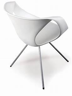 stuhl weiss design up chair designer stuhl tonon aus metall und polyurethan