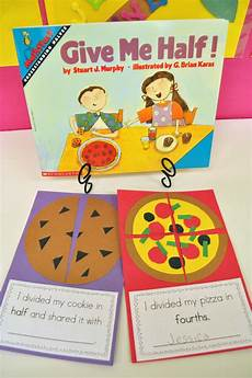 mrs ricca s kindergarten yummy fractions freebie quot i divided my cookie in half and shared it