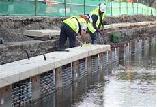 plastic sheet piling experts condor projects uk