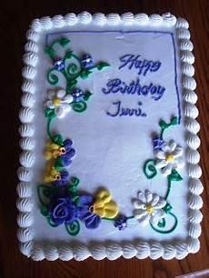 kieslerkakes 1 4 sheet cake for birthday