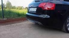 audi a4 b7 2 0tdi s4 exhaust sound mod youtube