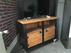 meuble tv atelier meuble tv style atelier industriel luckyfind