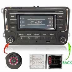 vw touran radio navi vw autoradio rcn210 con bluetooth cd sd usb aux golf