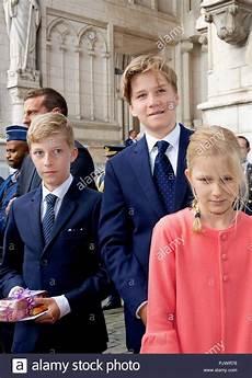 Princes Emmanuel Et Gabriel Princesse El 233 Onore 8