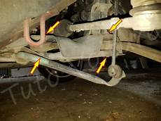 aide changement voiture comment remplacer triangle de suspension avant peugeot