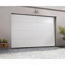 porte garage motorisée porte de garage sectionnelle motoris 233 e artens essentiel h