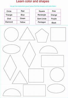 learn colors and shapes together