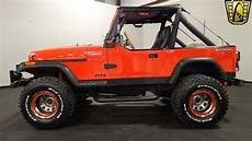 1989 jeep wrangler yj louisville showroom stock 1724