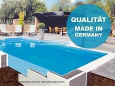 Styropor Pool Set Mit Römertreppe - hobby pool rechteck styropor systemsteinbecken pool set