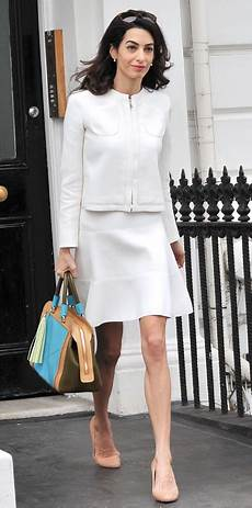 amal clooney s sophisticated chic look instyle