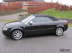 2005 audi s4 cabriolet tiptronic car photo and specs