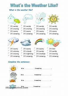 ela worksheets 15480 the weather material escolar en ingles educacion ingles aprender ingles para ni 241 os
