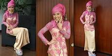 Model Jilbab Pashmina Untuk Kebaya Dan Cara Memakainya