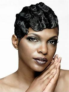 Black Hairstyle Finger Wave