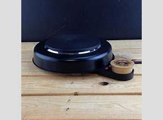 Cast Iron Slow Cooker with British or Euro plug