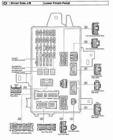 2004 Toyotum Camry Fuse Diagram by 2003 Camry Fuse Box Diagram Dash