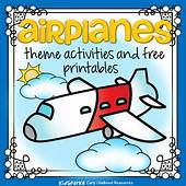 Airplanes Preschool Theme Activities  KidSparkz KIDSPARKZ