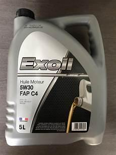 Huile De Moteur Exoil 5w30 Fap C4 Rn Import Export