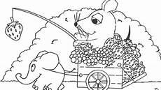 Ausmalbilder Maus Elefant Ente Beerenernte Die Sendung Mit Der Maus Wdr