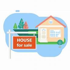 haus verkaufen mit hypothek haus plan stock illustrationen vektors klipart