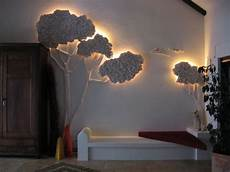 Holz Deko Kinderzimmer - objekt baum styropor holz gips farbe kinder zimmer