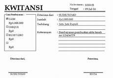 contoh kwitansi pembayaran dan pembelian terlengkap liputanteknologi